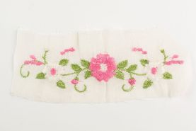 Floral Sew On Patch